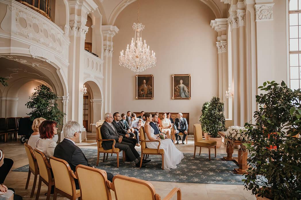 Standesamtliche Hochzeit im Schloss Lamberg, Steyr, Oberösterreich, Verygraphy