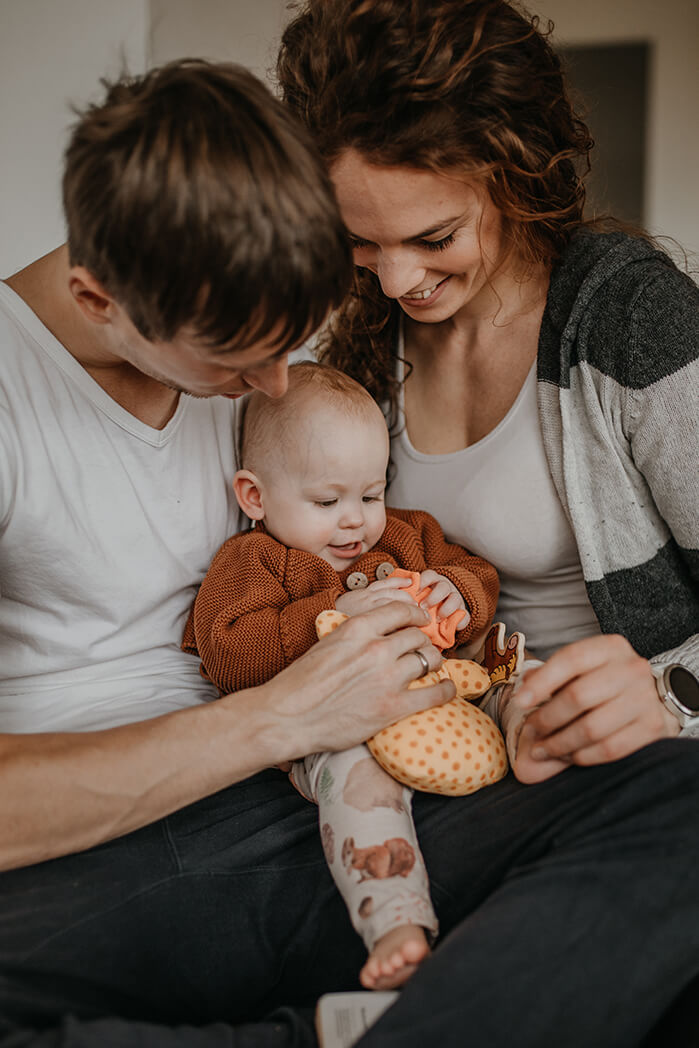 Familienshooting, Homestory in Kirchschlag bei Linz, Oberösterreich, Verygraphy